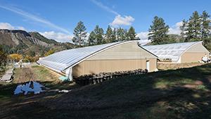 Chimney Rock Hemp Passive Solar Greenhouses