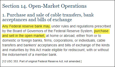 Federal Reserve Open-Market Operations