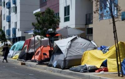 LA tent city