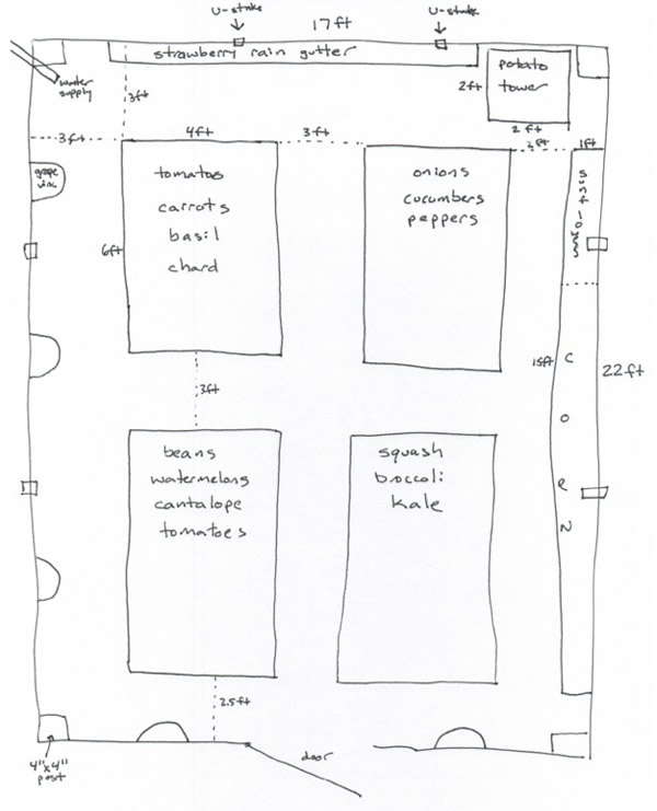 Vegetable Garden Bed Dimensions