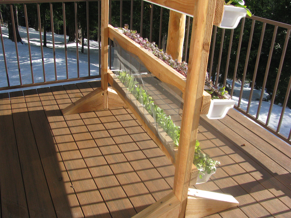 Vertical Gutter Gardens | Peak Prosperity