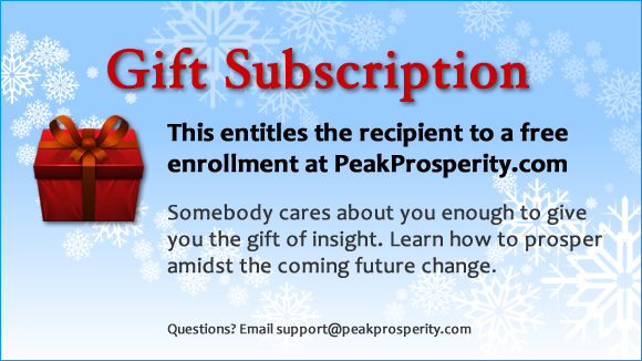 PP gift subscription certificate