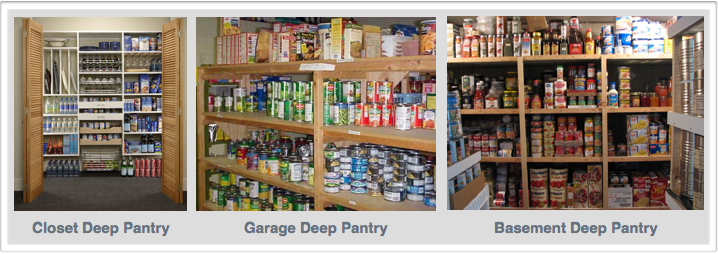 Now That Have An Idea Of What Your Deep Pantry Will Contain, Itu0027s Now Time  To Decide Where You To Locate Your Deep Pantry. The Ideal Location Is One  That ...